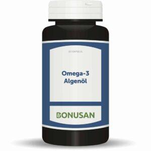 Omega 3 Algenöl, pflanzliches DHA & Vitamin D3 Bonusan