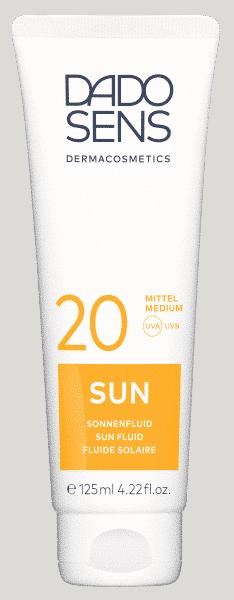 SUN Sonnenfluid SPF 20 Dado Sens