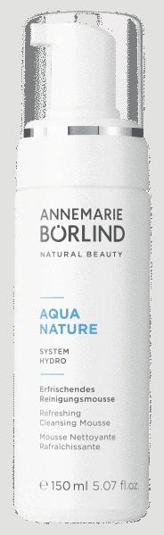AquaNature Erfrischendes Reinigungsmousse Börlind
