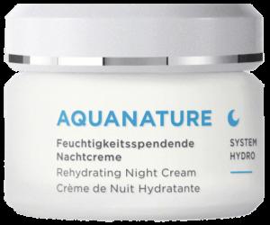 AquaNature Hyaluron Feuchtigkeitssprendende Nachtcreme Börlind