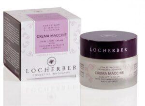 Aufhellungscreme für Gesicht, mit Extrakten von Gurke und Süßholz Locherber