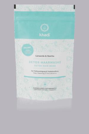 Detox-Haarmaske, zur Tiefenreinigung & Vorbehandlung Khadi