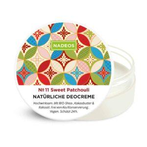 Deocreme Sweet Patchouli Nadeos