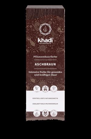 Pflanzenhaarfarbe Aschbraun Khadi