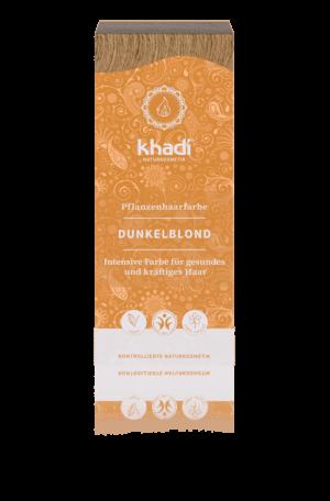 Pflanzenhaarfarbe Dunkelblond Khadi