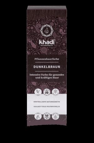 Pflanzenhaarfarbe Dunkelbraun Khadi