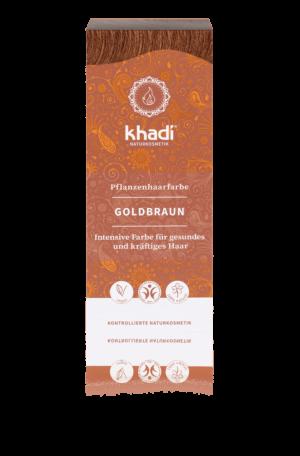 Pflanzenhaarfarbe Goldbraun Khadi