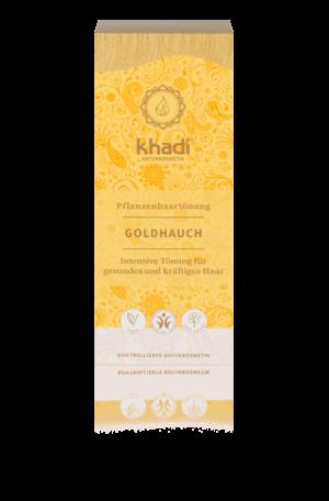 Pflanzenhaarfarbe Goldhauch Khadi