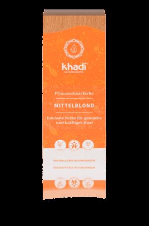 Pflanzenhaarfarbe Mittelblond Khadi