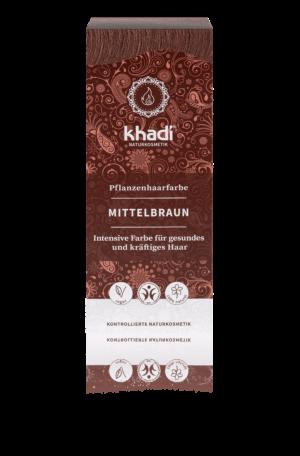 Pflanzenhaarfarbe Mittelbraun Khadi