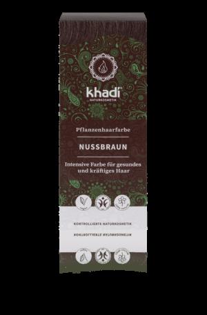 Pflanzenhaarfarbe Nussbraun Khadi