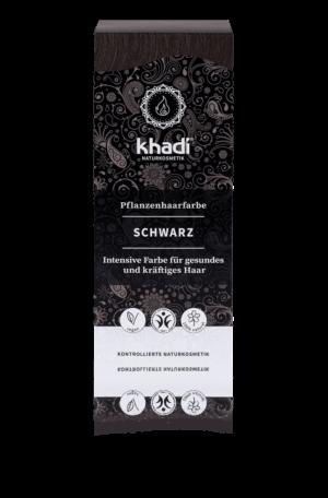Pflanzenhaarfarbe Schwarz Khadi