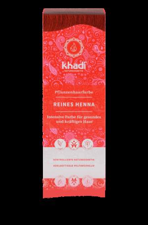 Pflanzenhaarfarbe reines Henna Rot Khadi