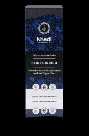 Pflanzenhaarfarbe reines Indigo Khadi