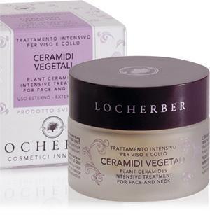 Pflanzliche Ceramide, Intensivbehandlung für Gesicht und Hals Locherber