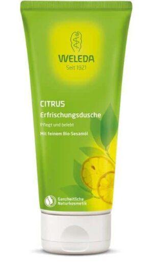 Citrus-Erfrischungsdusche Weleda