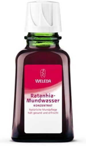 Ratanhia-Mundwasser Weleda